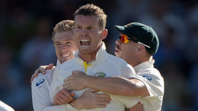 Peter Siddle: Savouring first Ashes success