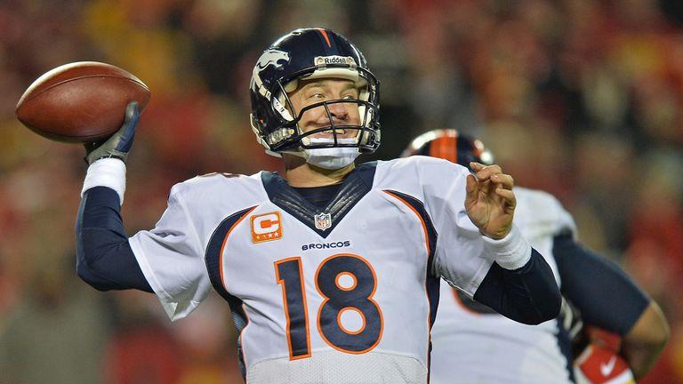 High five: Peyton Manning ripped Kansas City apart through the air