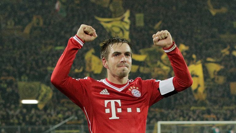 Philipp Lahm: Bayern Munich captain ready to play in midfield for Germany
