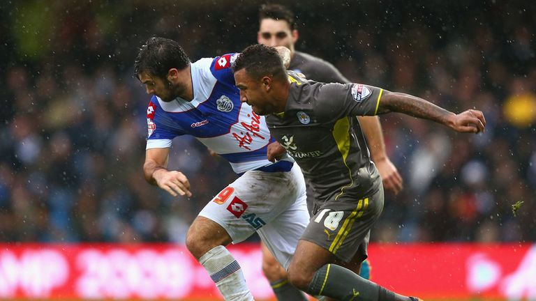 Charlie Austin and Liam Moore: Battling at Loftus Road