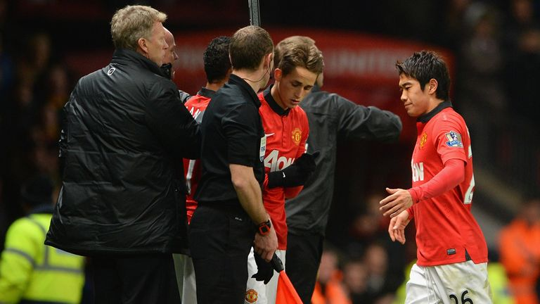 Shinji Kagawa: Substituted against Everton and a doubt to face Newcastle