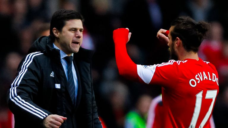 Mauricio Pochettino: Keen to keep star Dani Osvaldo