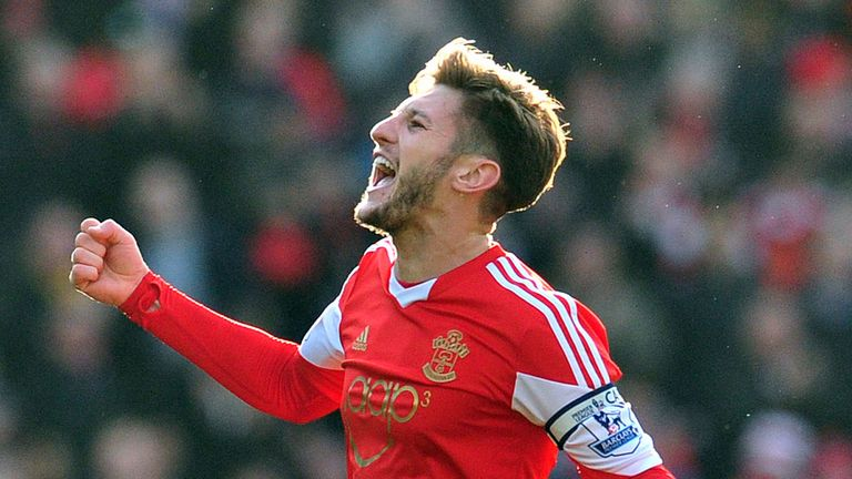 Adam Lallana: Southampton midfielder scored in 4-3 win over Burnley