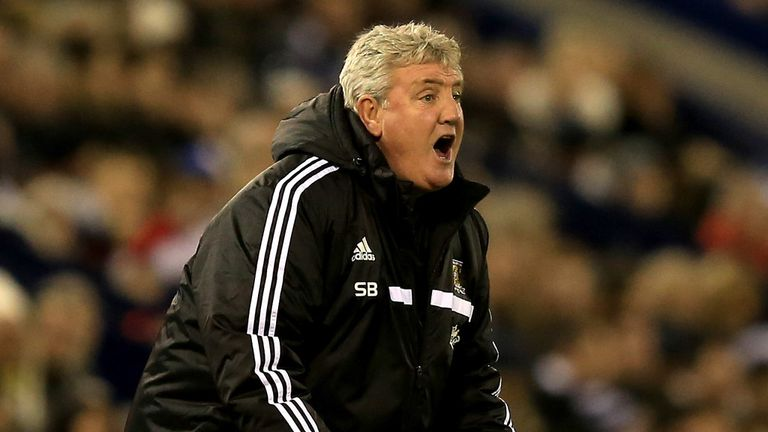 Steve Bruce: Frustrated by missed chances and defensive errors