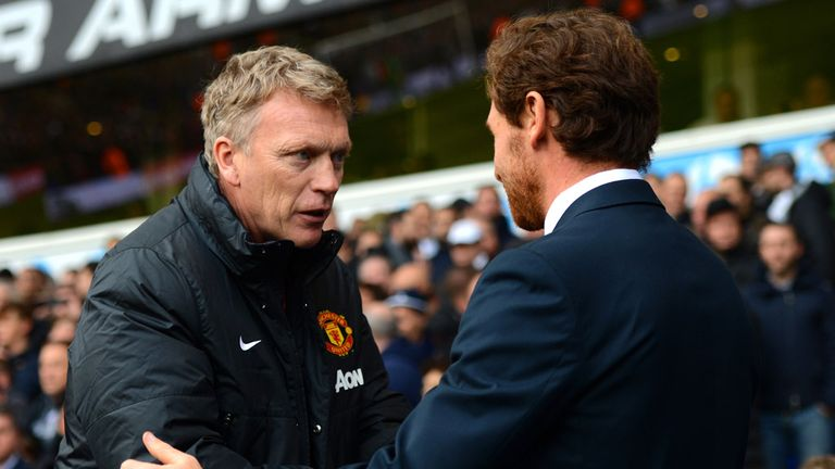 David Moyes: Saw Manchester United pick up just one point away at Tottenham