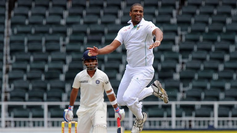 Vernon Philander: Took 4-61 as India's tail failed to wag early on day two