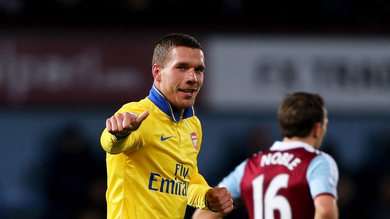 Lukas Podolski: Ready to aid title bid