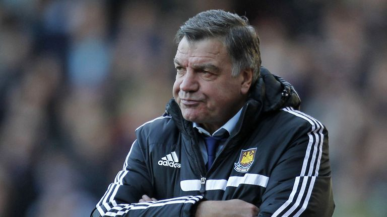 Sam Allardyce: Under pressure but says he has received good support from club bosses