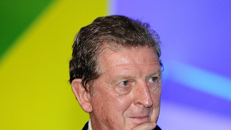 Roy Hodgson: Attended Friday's draw in Salvador