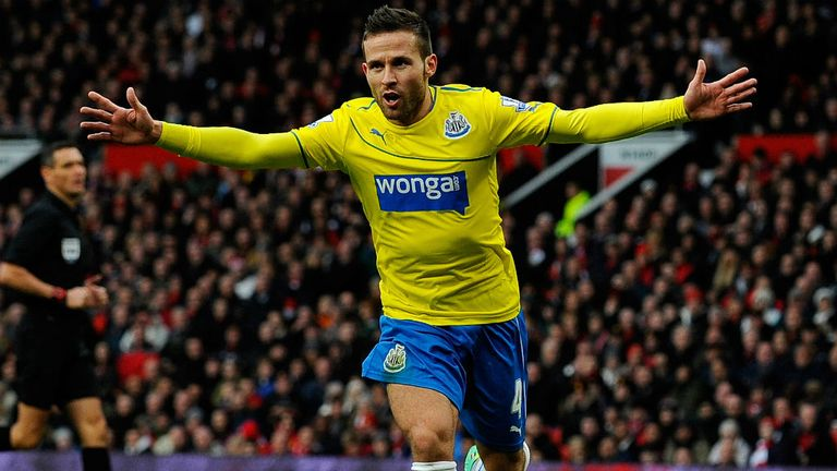 Yohan Cabaye: Good form for Newcastle