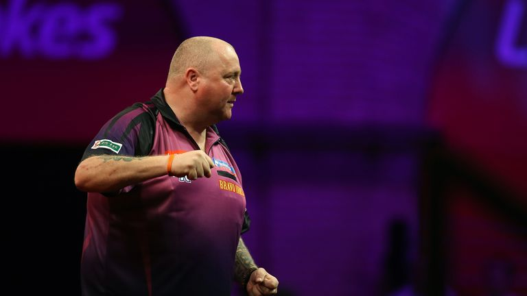 Andy Hamilton: reached final at Alexandra Palace two years ago