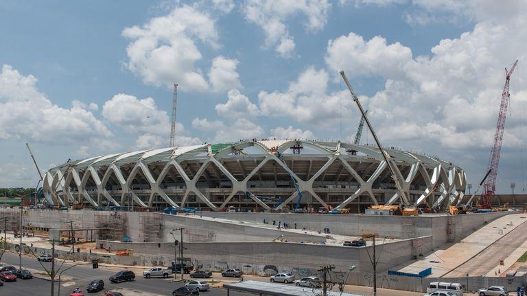 Arena Amazonia: Stadium tragedy