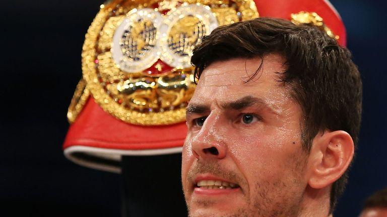 Champion: Barker spent 124 days as a world champion