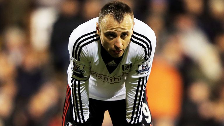 Dimitar Berbatov: Fulham striker has been linked with a January exit