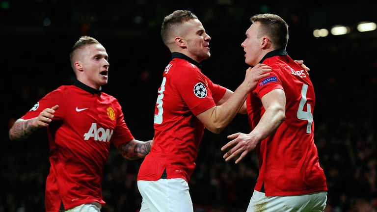 It was only with the introduction of the much maligned Tom Cleverley that United really took control
