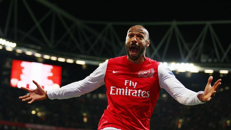 Thierry Henry: Arsenal legend to face Gunners in New York