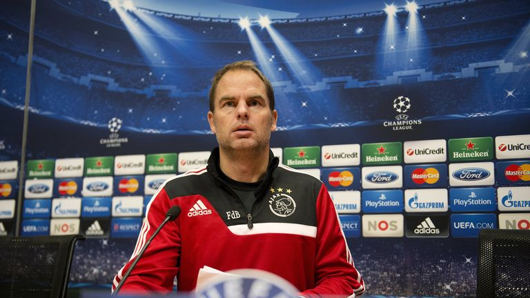 Frank de Boer: Ajax coach favourite for Tottenham job