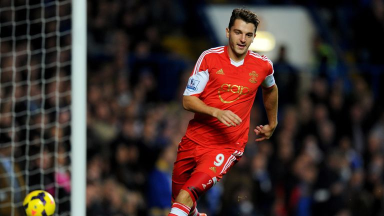 Jay Rodriguez: Winger's form for Southampton has led to an England cap