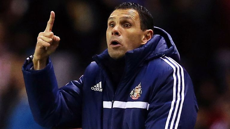 Gus Poyet hopes his side can build on battling display against Chelsea