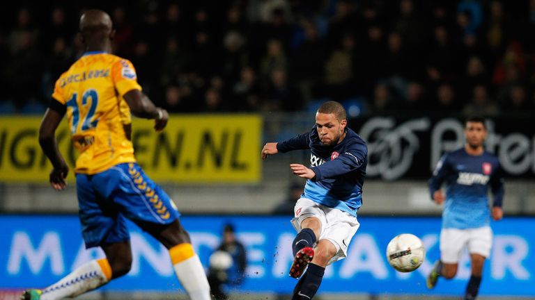 Luc Castaignos: Scores Twente's equaliser on Friday night