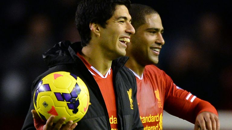 Luis Suarez: Happy at Anfield