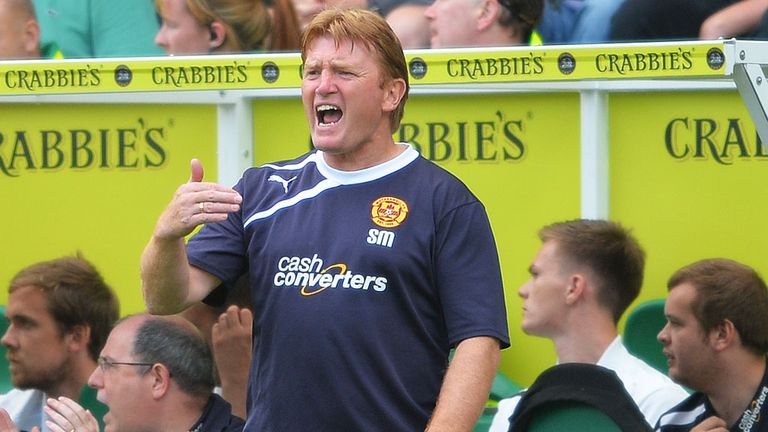Stuart McCall: Overseeing a big change at Fir Park