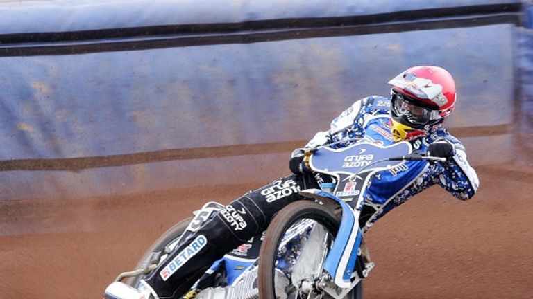 Maciej Janowski: Back with Poole (pic credit poolespeedway.co and Dave Fairbrother)