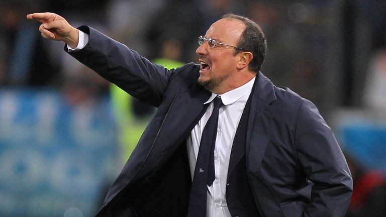 Rafael Benitez: Napoli boss has pointed to errors in recent defeat