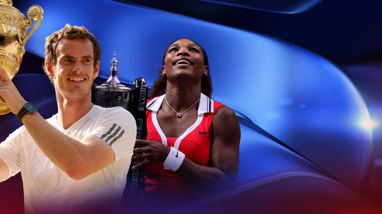 Andy Murray and Serena Williams enjoyed landmark years in 2013