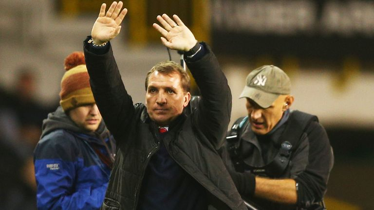 Brendan Rodgers: Liverpool manager delighted with performance