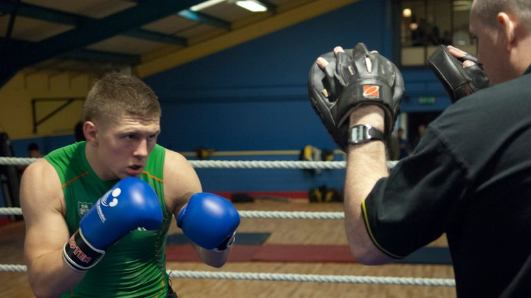 Jason Quigley: Will begin his professional career in Las Vegas in July