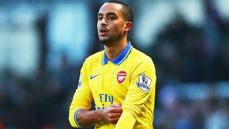 Theo Walcott: Helped Arsenal regain top spot in the Premier League