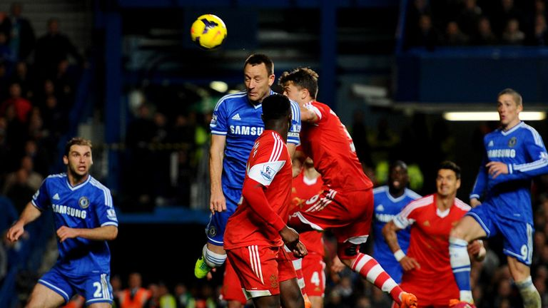John Terry: Scores for Chelsea against Southampton