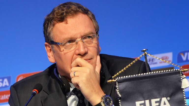 Jerome Valcke: Worried about stadiums
