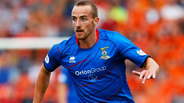 James Vincent: Offered a new deal at Inverness