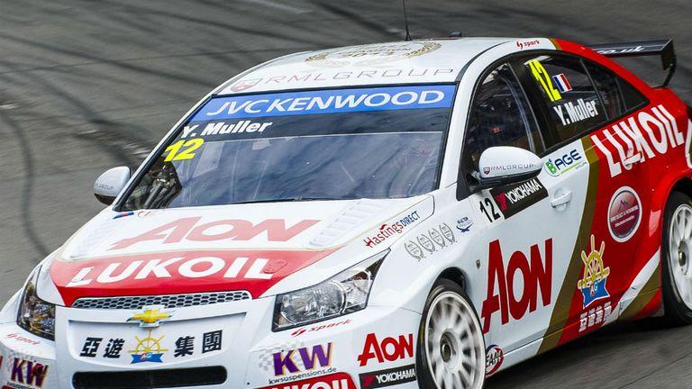 Yvan Muller: Raced to victory at Paul Ricard