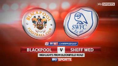 Blackpool 2-0 Sheff Wed