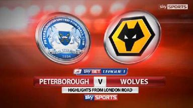 Peterborough 1-0 Wolves