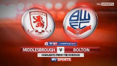 Middlesbrough 1-0 Bolton