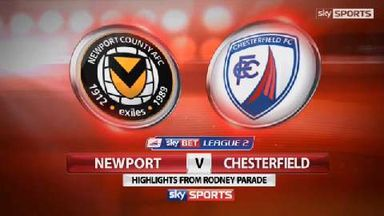 Newport 3-2 Chesterfield