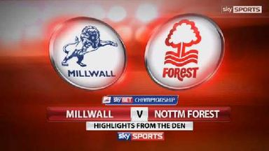 Millwall 2-2 Nott'm Forest