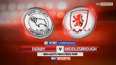 Derby v Middlesbrough