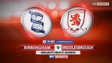 Birmingham 3-2 Middlesbrough