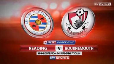 Reading 1-2 Bournemouth