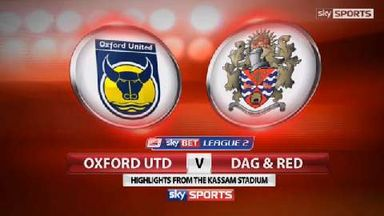 Oxford 2-1 Dag and Red