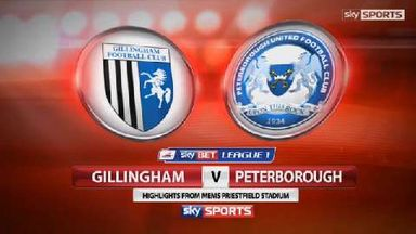 Gillingham 2-2 Peterborough
