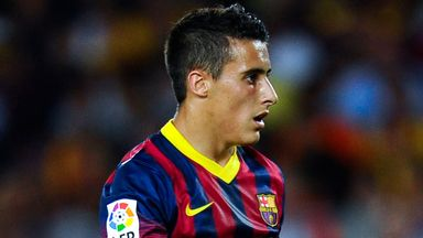 Cristian Tello: Committed to Barcelona despite a lack of game time