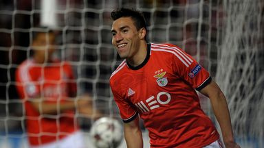 Nicolas Gaitan: Continues to be heavily linked with Premier League clubs