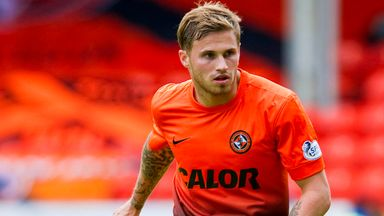 David Goodwillie: Wants to impress during spell at Blackpool