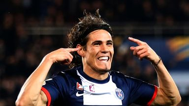 Edinson Cavani: Told he is staying put